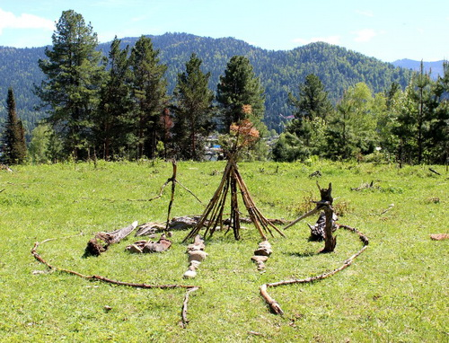 Домик лесных жителей