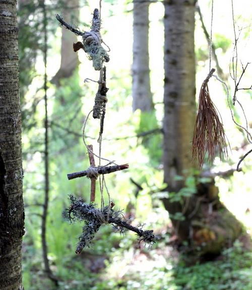 Украшения таинственного леса, команда «Всплеск»